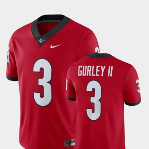 Men's Player #3 Alumni Football Game UGA Todd Gurley II college Jersey - Red